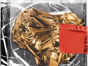 Kanye West 'Yeezus' album artwork.