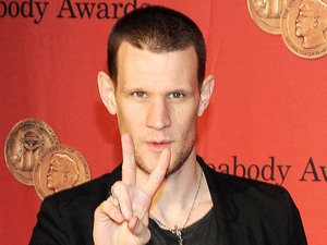 Matt Smith, scar, shaved head, Doctor Who, 72nd Annual Peabody Awards, New York