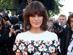 Milla Jovovich, 66th Cannes Film Festival, Blood Ties, Chanel Couture dress