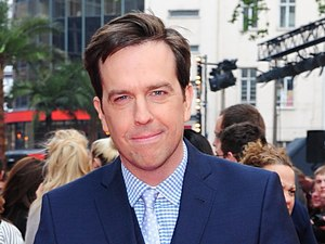 Ed Helms arriving for the UK premiere of 'The Hangover: Part III' in London