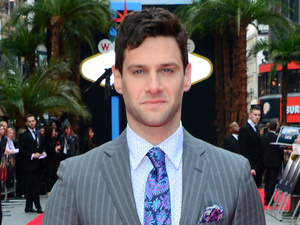 Justin Bartha arriving for the UK premiere of 'The Hangover: Part III' in London