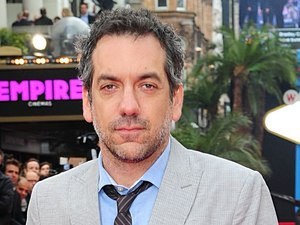 Todd Phillips arriving for the UK premiere of 'The Hangover: Part III' in London