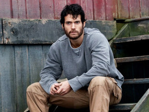 Henry Cavill as Clark Kent in Man of Steel
