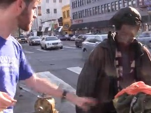 Abercrombie & Fitch clothes donated to homeless in viral campaign