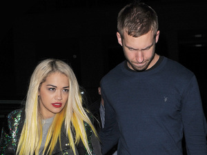 Rita Ora, Calvin Harris, London