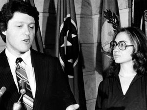 Bill Clinton and wife Hillary Clinton during the 1970s