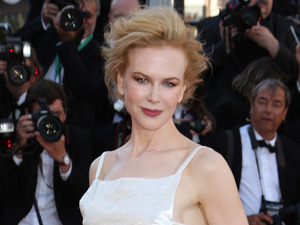 Nicole Kidman arrives at the 'Venus in Fur' film premiere.