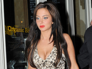 Tulisa Contostavlos, Freedom Bar in Soho for Whiskey Misy