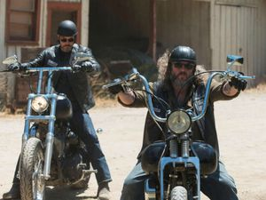 A still from 'Sons of Anarchy'