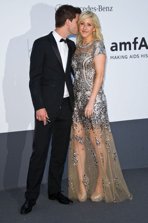 Jeremy Irvine, Ellie Goulding, amfAR Cinema Against Aids 2013 Gala, 66th Cannes Film Festival, France