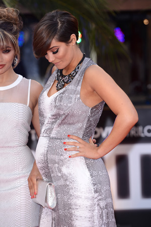 Frankie Sandford attends 'The Hangover III' UK film premiere