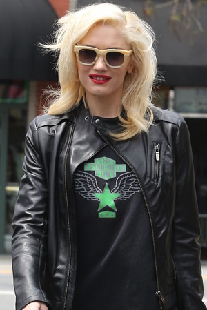 Gwen Stefani out and about in Los Angeles.