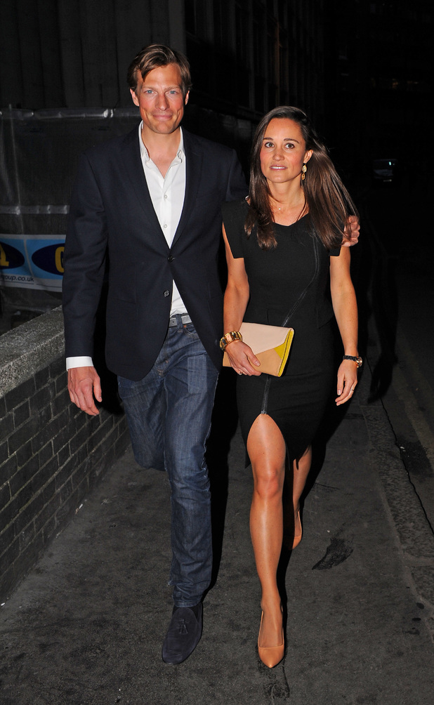 Nico James and Pippa Middleton