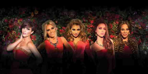 The Saturdays in 'Gentlemen' video