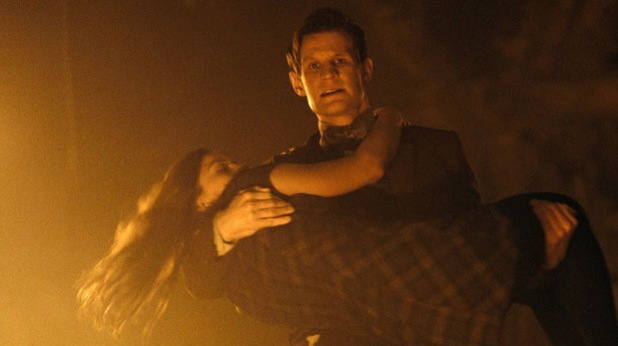 Matt Smith and Jenna-Louise Coleman in 'The Name of the Doctor'
