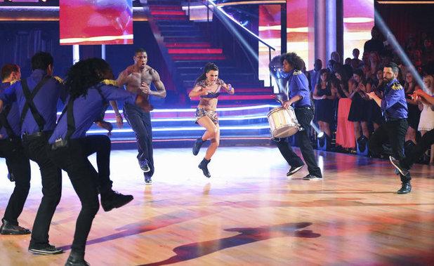 Dancing With The Stars Finale (Week 10): Jacoby Jones & Karina Smirnoff