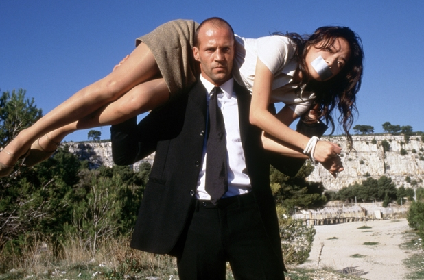 Jason Statham, Qi Shu in The Transporter