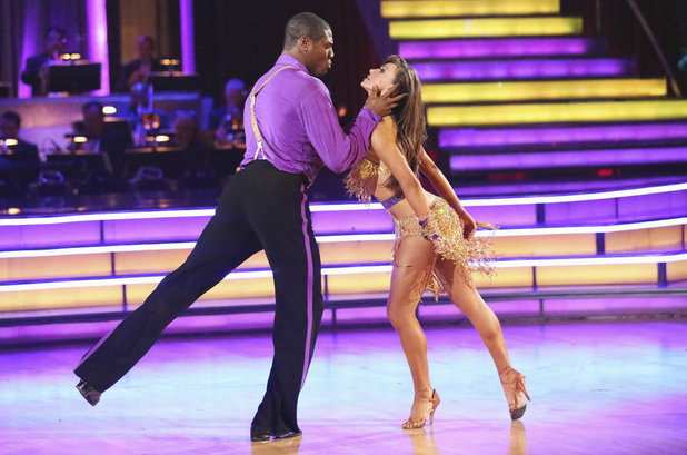 Dancing with the Stars - 2013 finale: Jacoby Jones & Karina Smirnoff