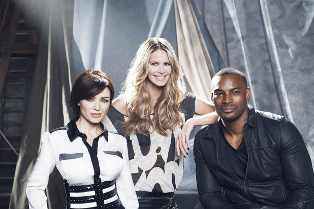 Danni Minogue, Elle Macpherson, Tyson Beckford on 'Britain & Ireland's Next Top Model'