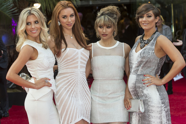 The Saturdays attend 'The Hangover III' UK film premiere