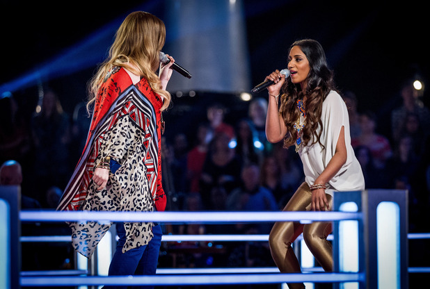 A look at the singers going head-to-head in the ring this week.