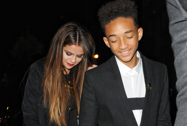 Jaden Smith & Selena Gomez leave a restaurant together in Mayfair