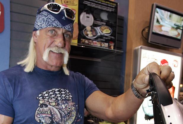 Hulk Hogan's portable grill