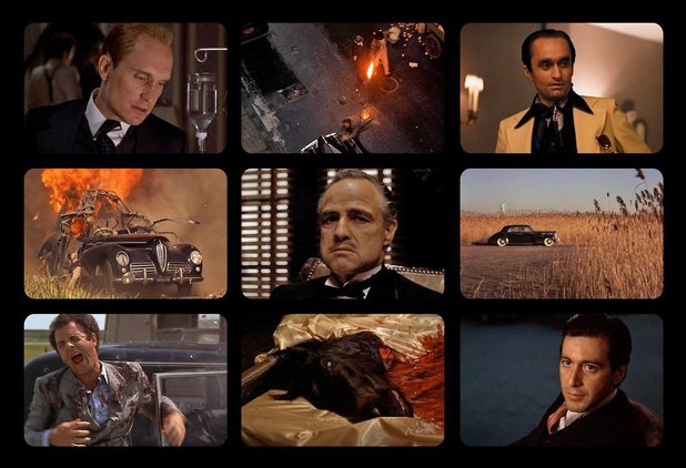 9 Film Frames: The Godfather