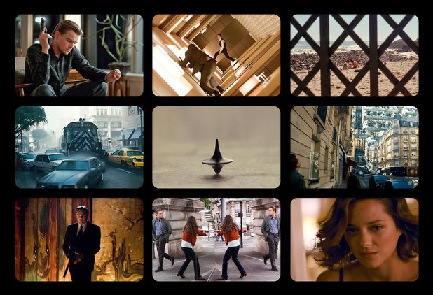 9 Film Frames: Inception