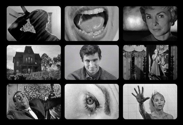 9 Film Frames: Psycho
