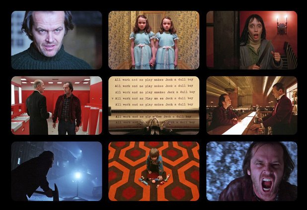9 Film Frames: The Shining