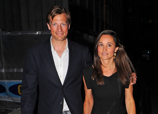 Pippa Middleton, Nico James, Mr Fogg launch party, London