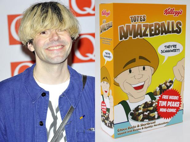 Tim Burgess Totes Amazeballs cereal