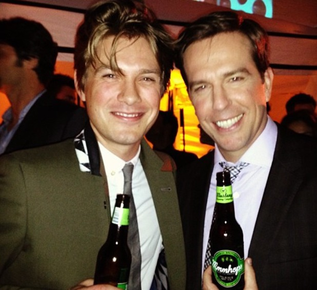 Taylor Hanson debuts Hanson Mmmhops beer with Ed Helms