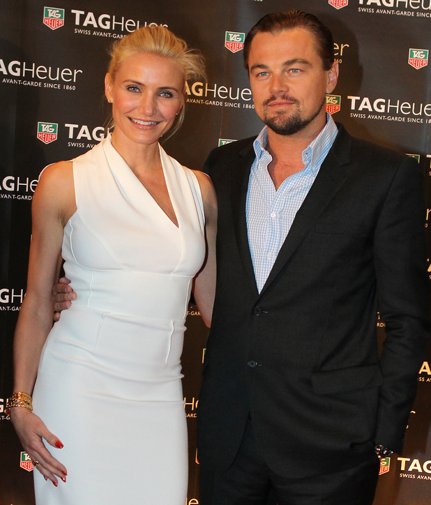 Cameron Diaz and Leonardo DiCaprio.