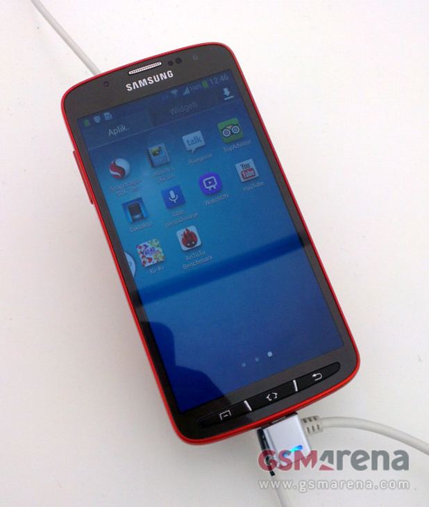 Leaked pictures of the Samsung Galaxy S4 Active