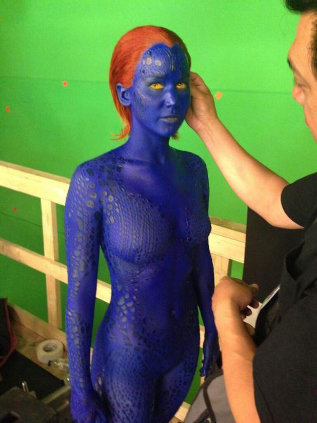 Jennifer Lawrence as Mystique in X-Men: Days of Future Past - first look - Movies News - Digital Spy