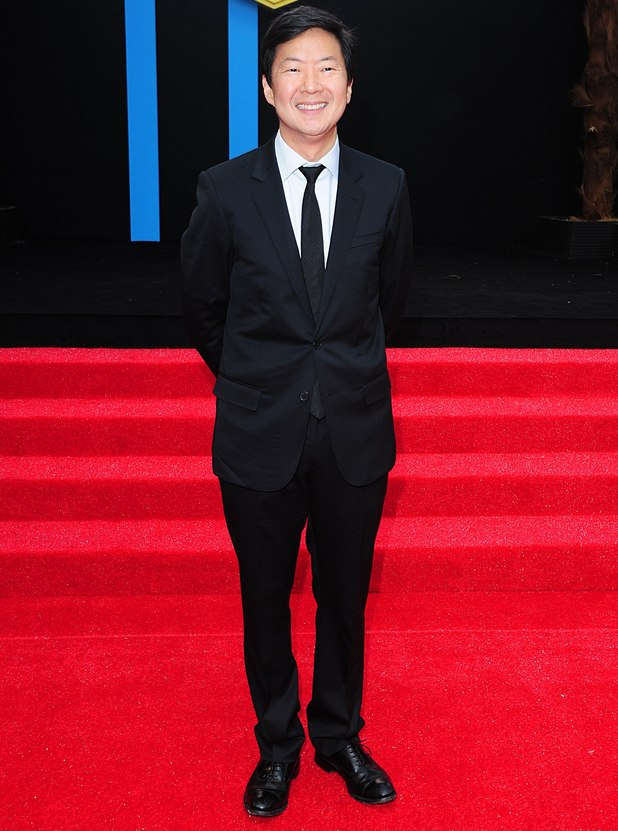 Ken Jeong arriving for the UK premiere of 'The Hangover: Part III' in London