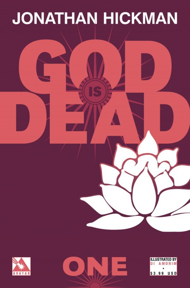 Jonathan Hickman's 'God is Dead' artwork