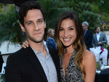 Justin Bartha and Lia Smith