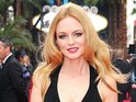 Heather Graham arriving for the UK premiere of 'The Hangover: Part 3' in London
