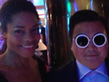 The 'Gangnam Style' rapper warns against a lookalike posing as him in Cannes.