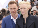 Tilda Swinton and Tom Hiddleston star as vampire lovers in supernatural film.