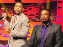 The actor surprises host Graham Norton by reuniting with the show's castmembers.