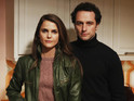Matthew Rhys and Keri Russell discuss dangers facing the Jennings family.