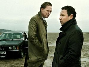 Paul Bettany and Stephen Graham in 'Blood'