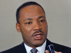 Martin Luther King Jr, photographed in April 1967