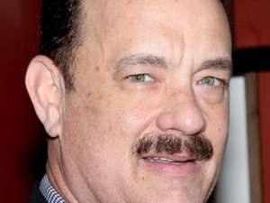 Tom Hanks, moustache, facial hair