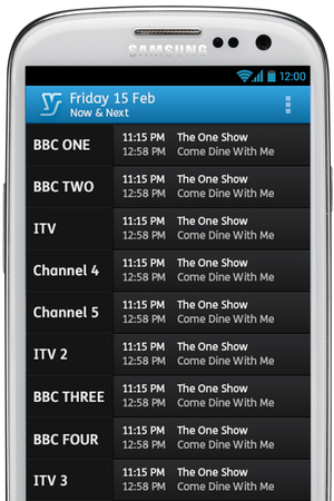 YouView Android app