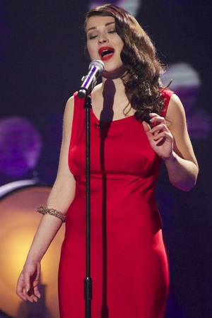 Alice Fredenham on the 'Britain's Got Talent' Semi Final Show 2 TV Programme - 28 May 2013